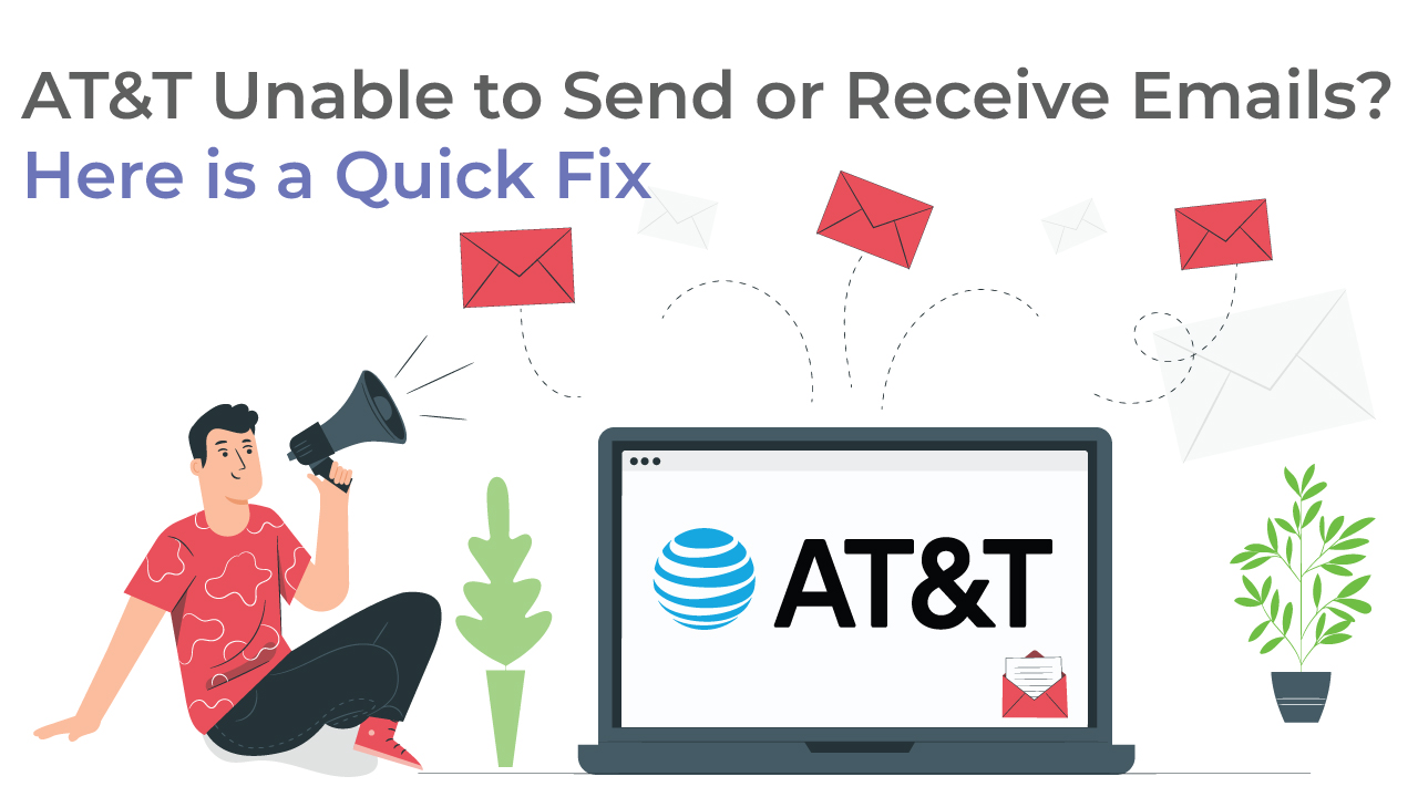 AT&T Unable to Send or Receive Emails