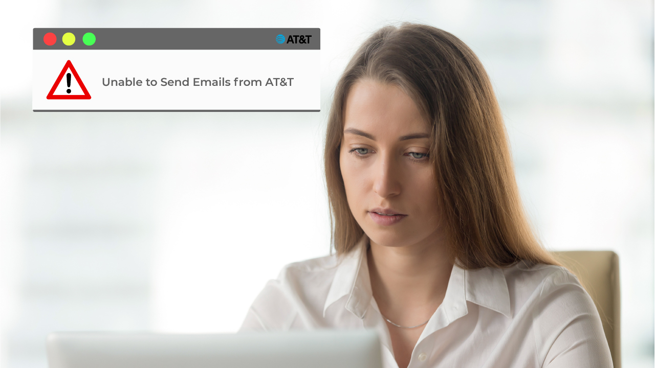 Unable to Send Emails from AT&T